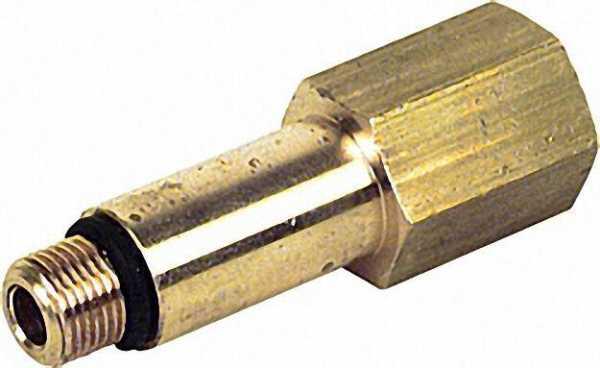 ManometerredStücke und Verlängerung 1/4'' i. x 1/8'' a,55 lang mit Einstich