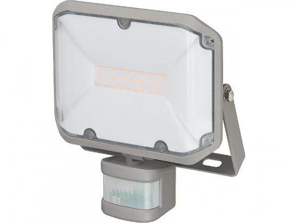 LED-Strahler AL 2000 P IP44, 20W, 2080lm, 3000K mit IR-Bewegungsmelder