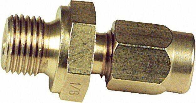 Klemmringverschraubung SOGEV 12mm x 3/8'' zylindrisch SO 41124