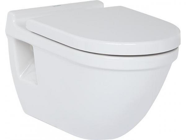 Wand-WC Duravit Starck 3 aus Keramik,mit off.Bef., weiß, 6,0l Spülung,BxHxT 360x320x540mm
