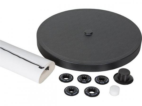 Isolierpaket für TWS 500 bestehend aus: PVC-Mantel Kunststoffeckel und Rosetten