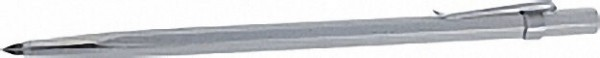 Reißnadel mit Hartmetalleinsatz und Befestigungsclip schaft Dm 6mm L=145mm