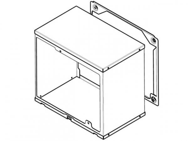 wolf verl ngerung 200mm edelstahl mauerst rken 300 400mm. Black Bedroom Furniture Sets. Home Design Ideas
