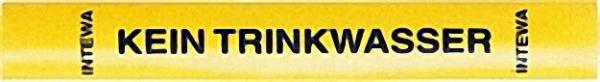 Kennzeichnungsset für Rohrleitungen und Entnahmestellen