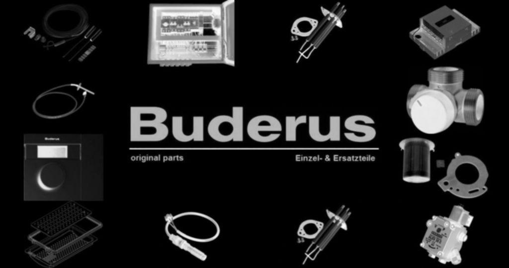 Buderus 63024238 Anschlussrohr Warmwasser GB132T everp V2