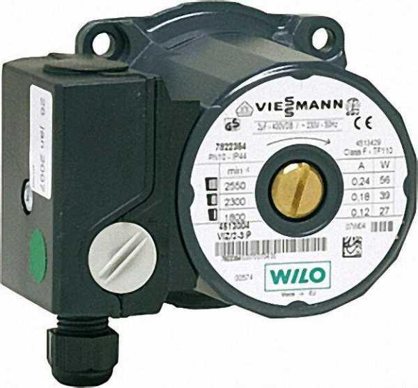 VIESSMANN Umwälzpumpenmotor VIZ 2-3 Referenz-Nr.: 7822354