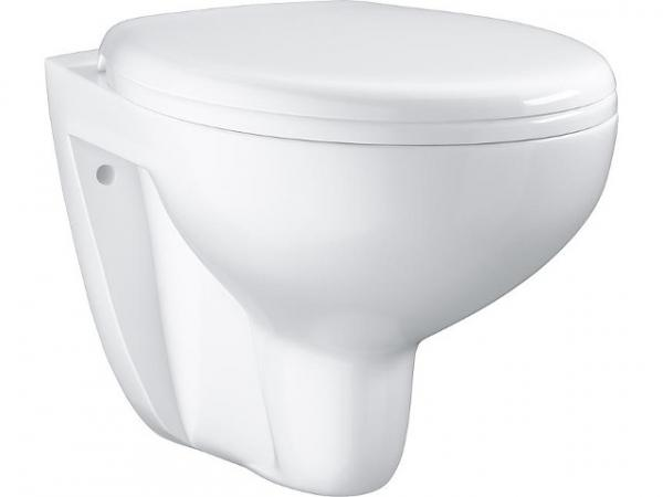 Wandtiefspül-WC Grohe Bau weiß, spülrandlos, BxTxH 368x531x363mm