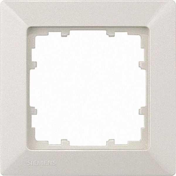 Rahmen 80-mm-Maß 5fach, 364mm x 80mm elektroweiß / 1 Stück