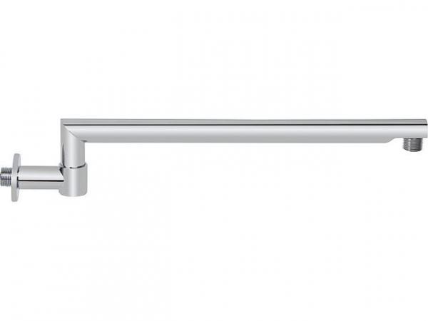 """Brausearm """"Rondo"""" 180° schwenkbar, L 425 mm Messing verchromt, rund"""