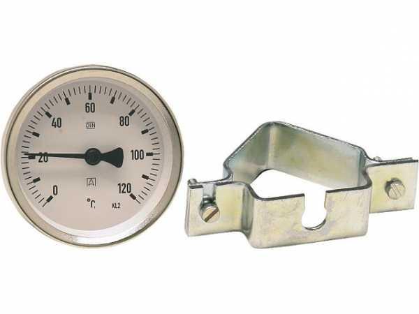 Magnet Anlegethermometer Ø 63 und Ø 80 mm Messbereich 0 bis 60 und 0 bis 120°C