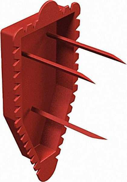 Signaldeckel Unterputz Typ UW ASD, rot / VPE 100 Stück