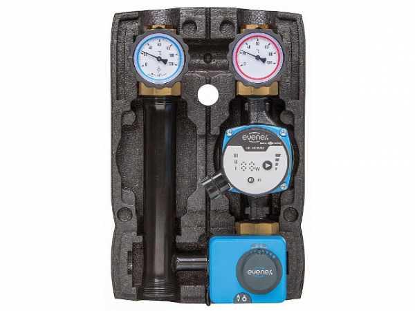 Heizkreisset Easyflow Basic gemischt, DN25 (1'), Pumpe HE-HS 55-25, Motor MM 230.5.120