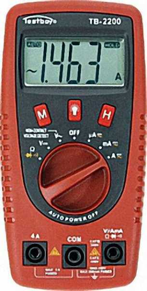 TESTBOY Digital Multimeter 2200 0-400V AC/DC