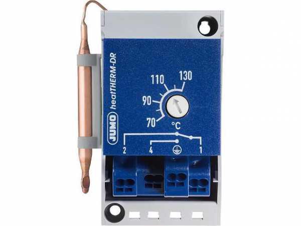 Jumo 60003283 Thermostat (TW) für Hutschienenmontage TH35 Typ 603070/0002,0. . 120°C