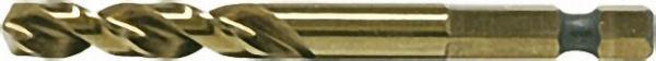 HM Zentrierbohrer mit 1/4'' Sechskant-schaft 8/80