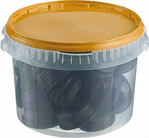 HT-Gummi-Nippel-Sortiment gelb, VPE 30 Stück