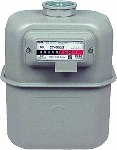 Gaszähler G 6 DN 25 Einstutzenausführung inklusive Eich- und Beglaubigungsgebühr