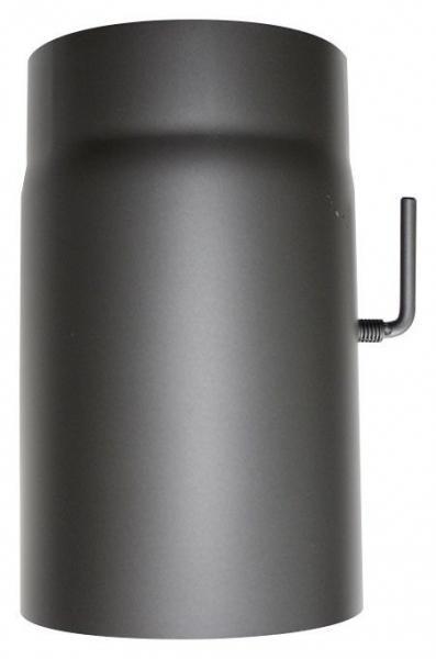 ORANIER Rauchrohr mit Drosselklappe L: 250mm
