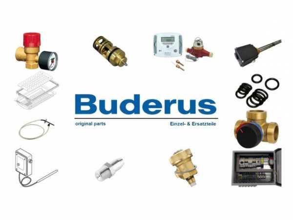 Buderus 7736600986 Abgasanschluss Set1 150x2 schwarz