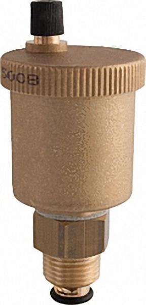 Schnellentlüfter Minical 1/2'' mit Absperrung Typ 5021