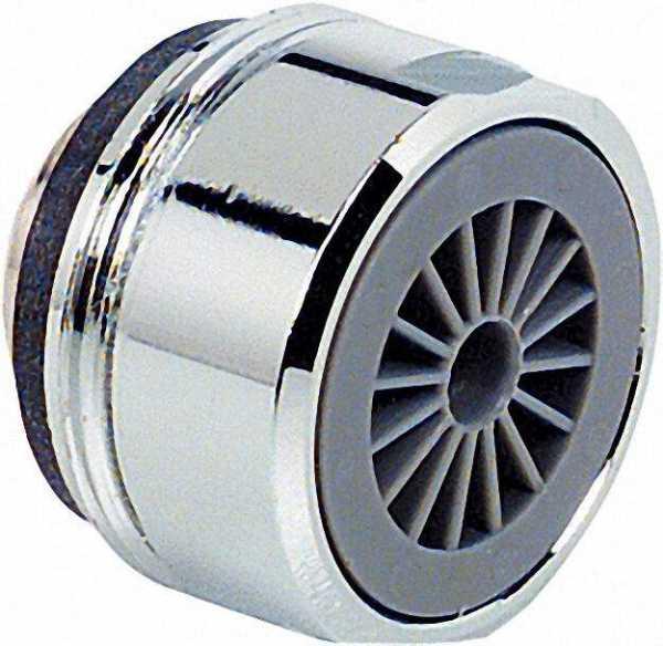 Spar-Weichstrahler ohne Prüfzeichen AG M24X1 mit Gummidichtung Spar 7,5 L/min