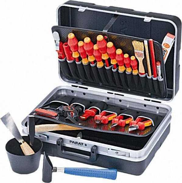 VDE-Werkzeugkoffer Elektro 26-teilig Abmessung: 465x120x310mm