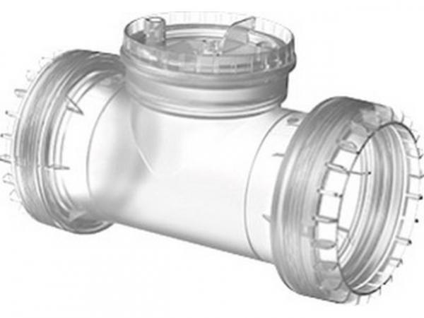 Buderus Rohr ÜB-Flex, Prüföffnung, Ø 80 mm, 7738112692
