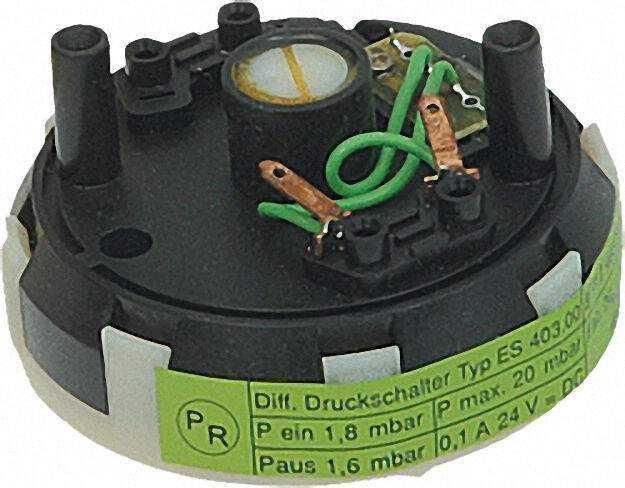 Differenzdruckschalter für ZSBR/ZWBR Junkers Nr.: 8 717 406 058
