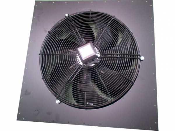 Wolf Axial-Ventilator 3x400V mit Rückwand, für LH 100, PG122