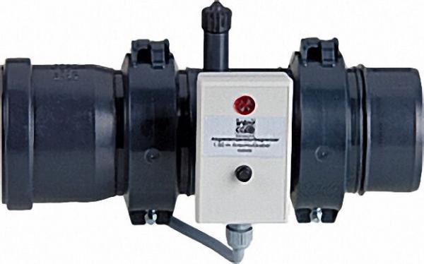 INTERCAL Kesselanschluss DN 80 mit Flansch Messöffnung und ATB