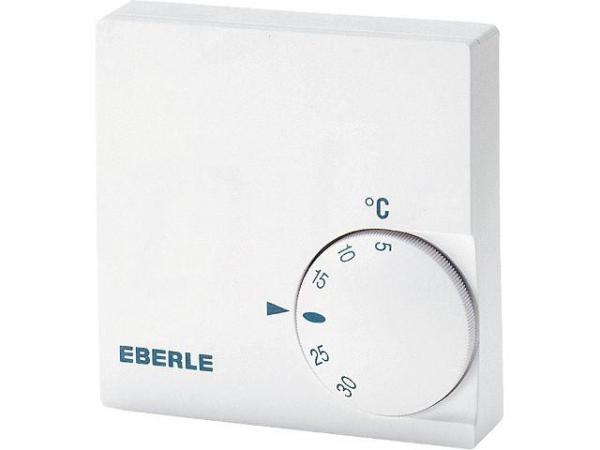 EBERLE Raumtemperaturregler RTR-E 6124 230V 50/60Hz rein weiß