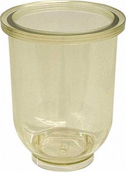 Zubehör für Heizölfilter Filtertasse Kunststoff klar