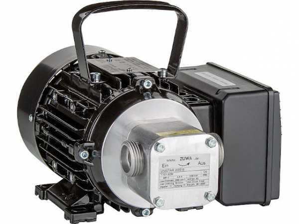 Ersatzpumpe Unistar 2000-B mit Motor, Kabel und Stecker zu Mobilcenter MC 60/30