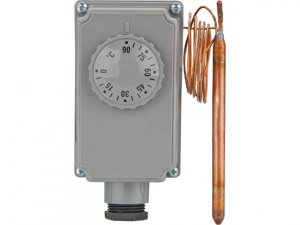 Tauchthermostat TC 100//A  Temperaturregler 0-90°C Warmwasser und Pufferspeicher