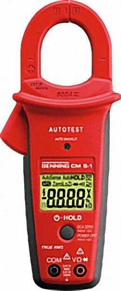 BENNING Digital-Stromzangen-Multimeter CM 5-1 VCAT IV 600V
