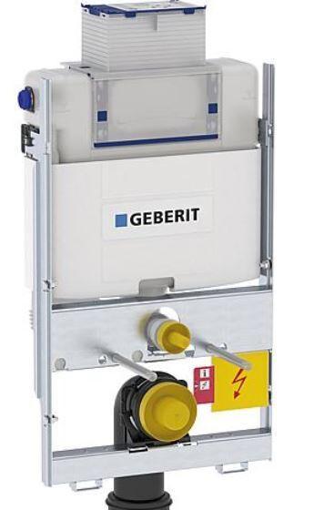 GEBERIT Geberit GIS Wand-WC 87cm, mit UP-Spülkasten Omega Betätigung von oben/vorne