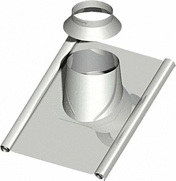 Dachdurchführung 30-45°, DN 130 mit Bleischürze ca. 1000 x 900mm inklu