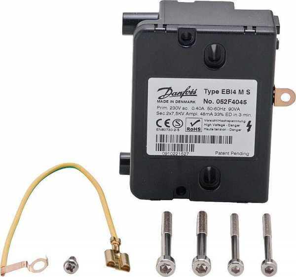 DANFOSS Elektrische Zündeinheit EBI4 MS ersetzt Serie EBI M 052F4045