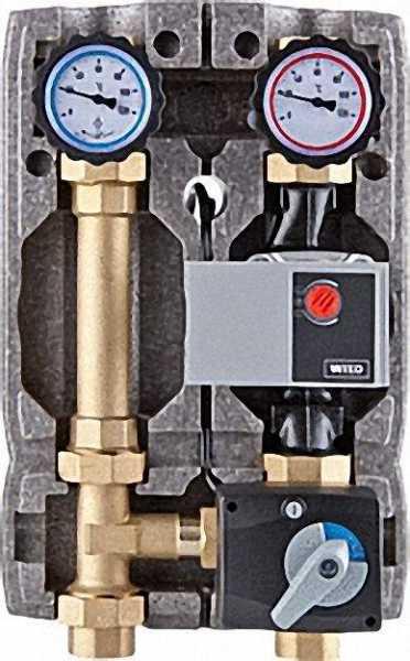 Heizkreisset Easyflow DN 25 (R1'') mit Isolierung 3-Wege- Mischer ohne Motor + Wilo Yonos Para 25-6