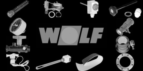 WOLF 1669250 Isol.2-teilig f.Verteiler 3-fach