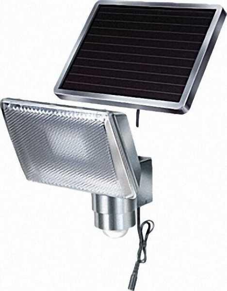 Solar-LED-Leuchte SOL 80 ALU 8 x LEDs