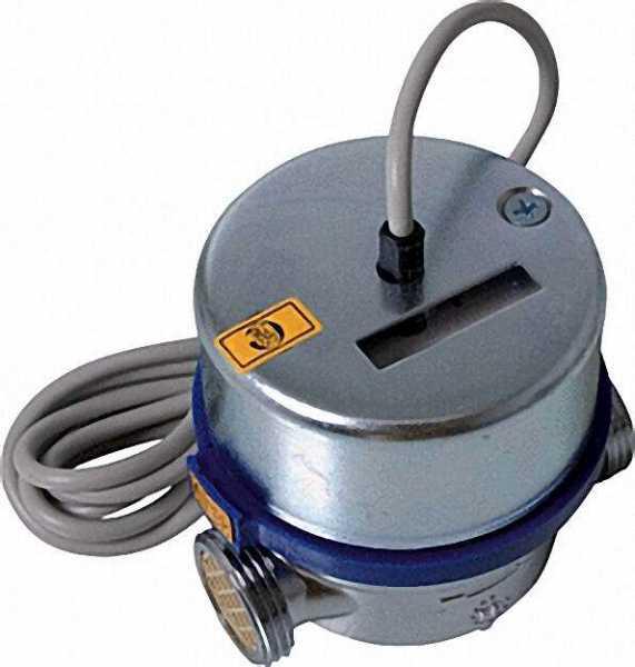 ANDRAE AP Wasserzähler Reedkontakt kalt Qn 2,5 m3/h=max 5m3/h 130mm bei max 16 bar 1''=DN 20mm