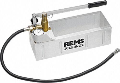 REMS Prüfpumpe Push INOX