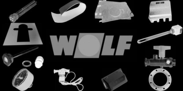 WOLF 2576225 Set Lüftungsgitter weiß (2 Stück)