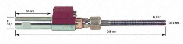 Ölvorwärmer für Körting 3. 3/5,5/ 8,5/VT1-DU/ mit Danfoss-Ölvorwärmer FPHB 5 30-110 Watt
