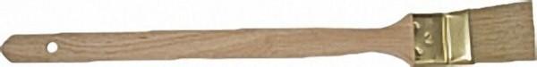 Ma. -Heizkörperpinsel 35mm Blechzwinge, helle Chinaborste, 3-fach gek. 90 % Tops