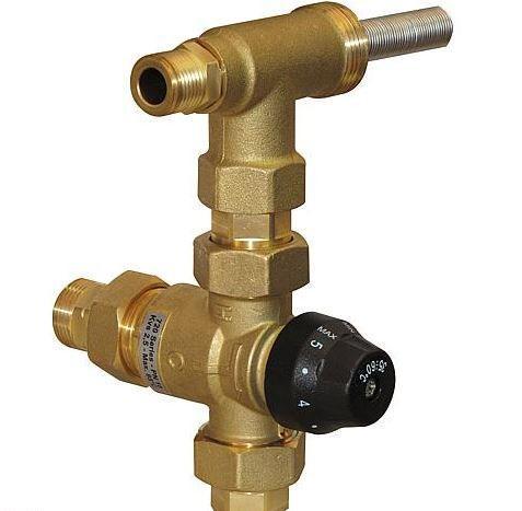Zirkulationsset Easyflow Circ 1 Kvs 2,5 für Hygiene Kombispeicher