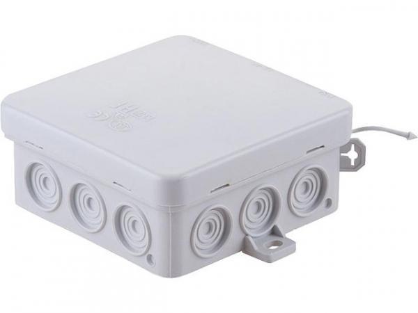 Feuchtraum Kabelabzweigkasten Thermoplast flammwidrig 85x85x37mm IP 54 VDE