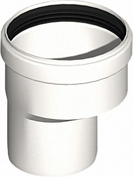 Kunststoff-Abgassystem Erweiterung D 60 - DN 80 exzentrisch
