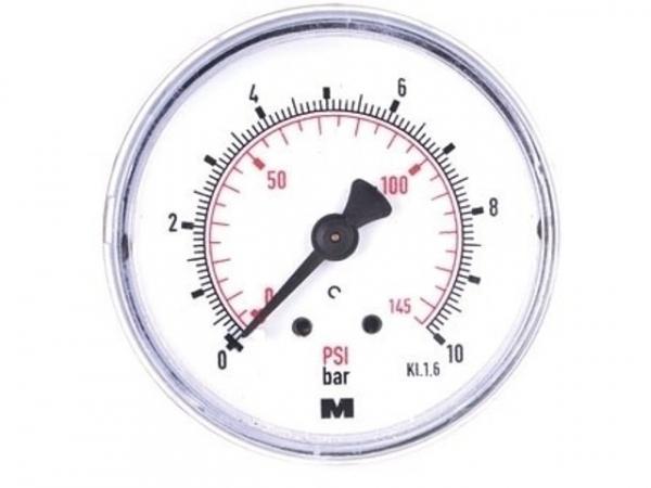 Manometer NG 63 axial 0 bis 16 bar